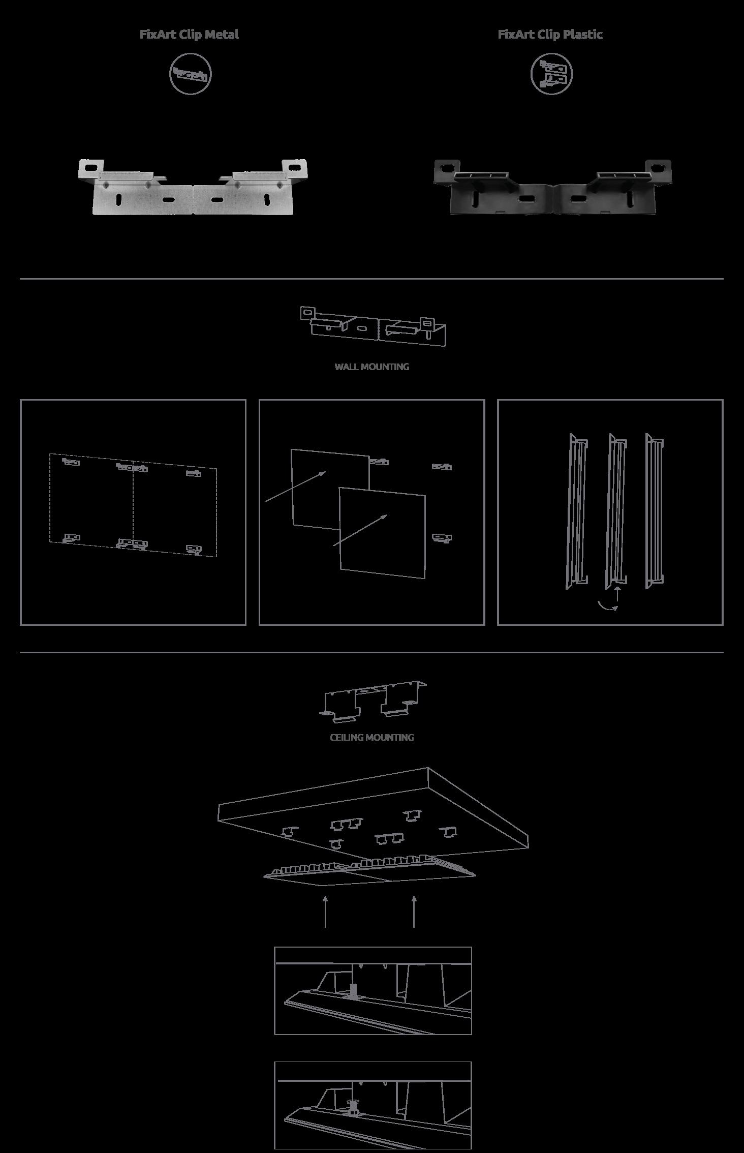 Artnovion FixArt Clip Metal - Pack Artnovion--c3ef87c88b2375201a81